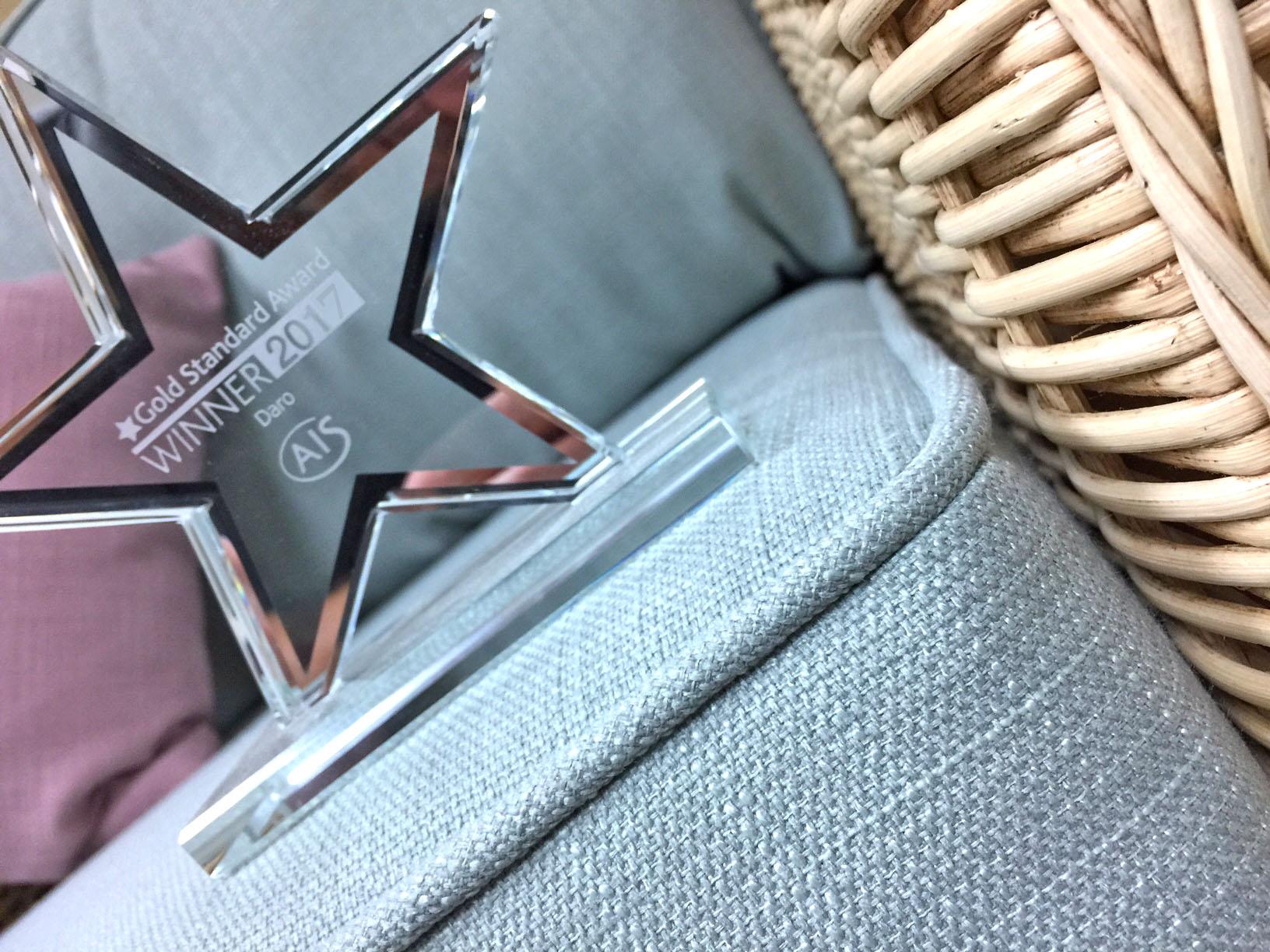 Ais gold standard award