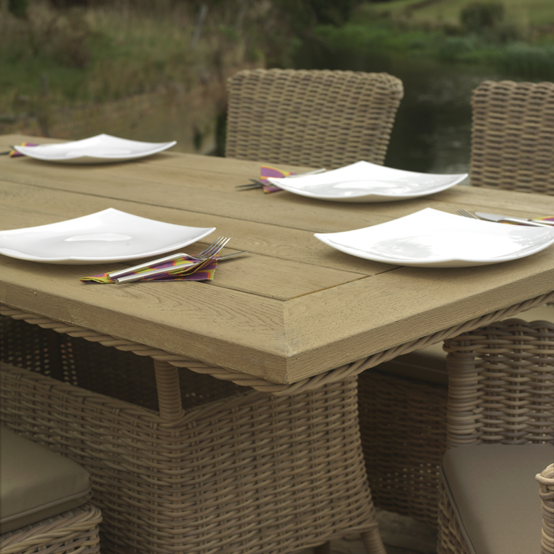 Product of the week auckland wood effect dining daro for Outdoor furniture auckland