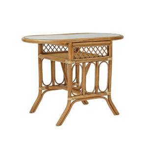 Bistro Oval Breakfast Table Natural Wash