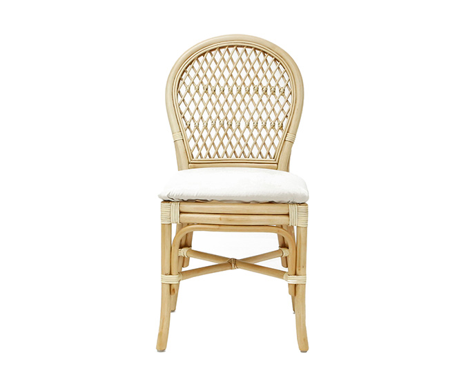 Bistro Dining Chair Light Natural Wash