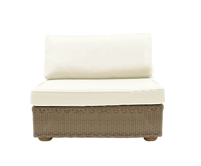 Hamilton Armless Sofa
