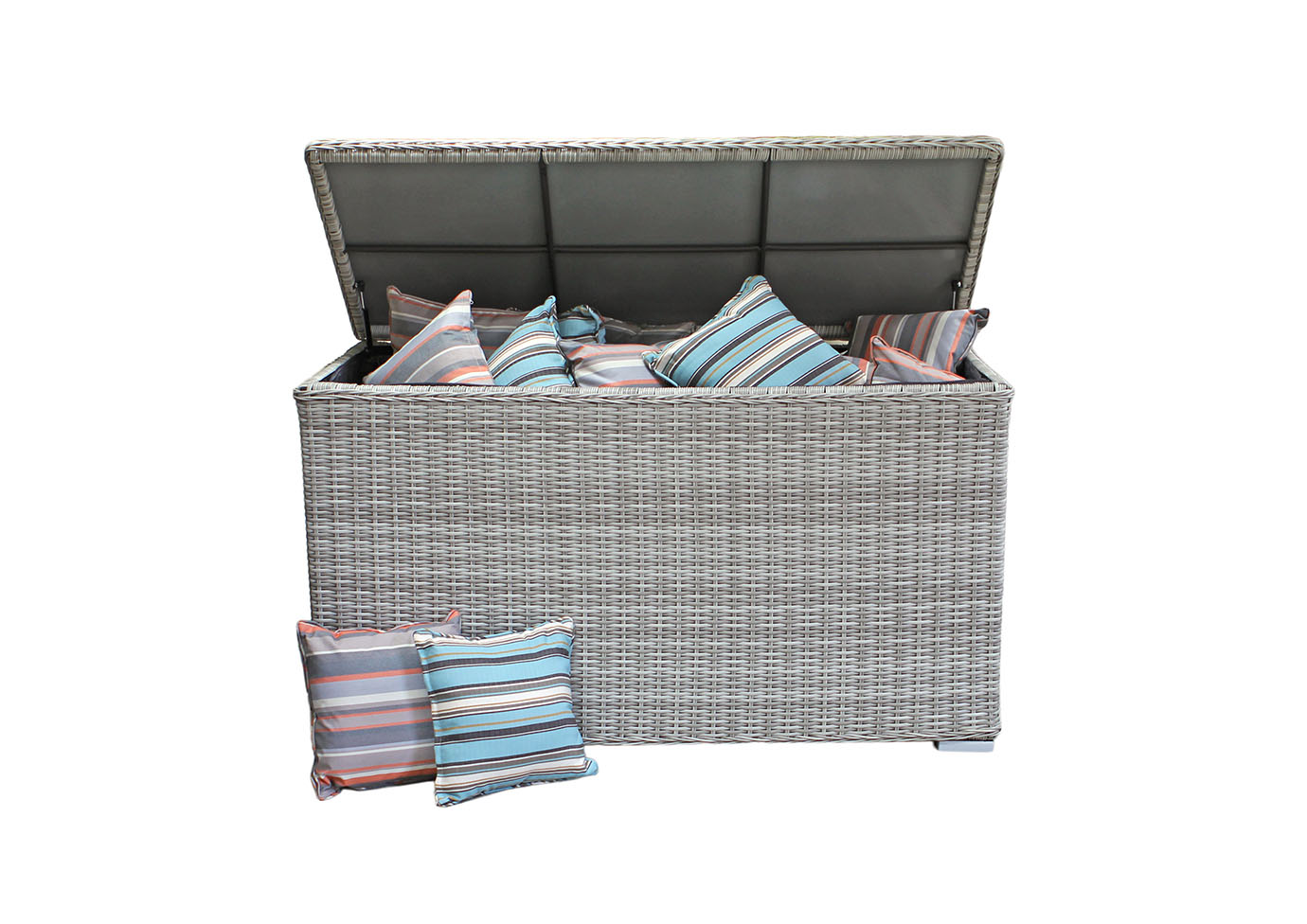 Cushions Storage Box (Pale Grey)
