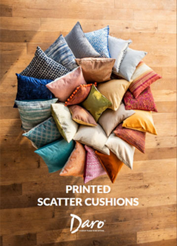Printed scatter cushions front cover
