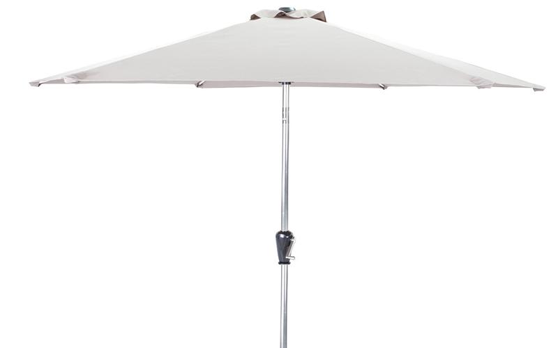 Parasol – 3m Aluminium Taupe Fabric