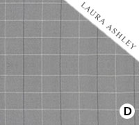 Laura Ashley Elmore Check Steel - Swatch Sample