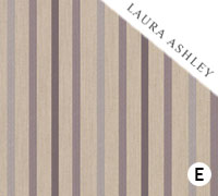 Laura Ashley Luxford Stripe Amethsyt - Swatch Sample
