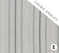 Laura Ashley Luxford Stripe Dove Grey - Swatch Sample