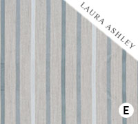 Laura Ashley Luxford Stripe Duck Egg - Swatch Sample