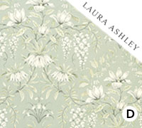 Laura Ashley Paterre Sage - Swatch Sample