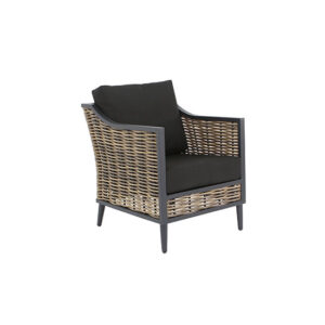 Langley Lounging Chair - Black
