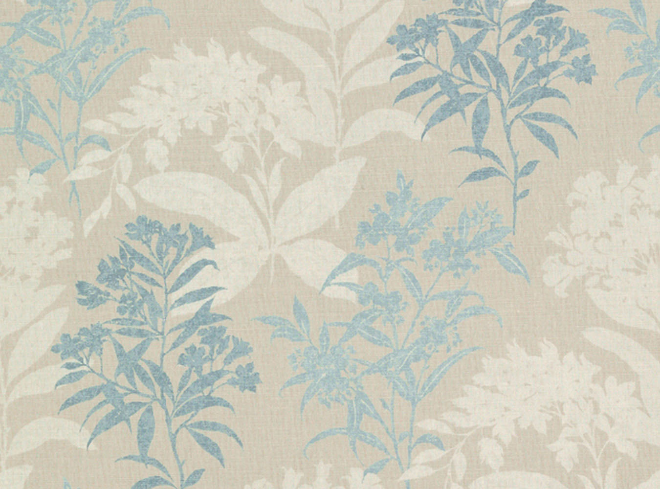 Laura Ashley Tenby Seaspray - Swatch Sample