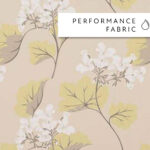 Laura Ashley Millwood Camomile - Swatch Sample