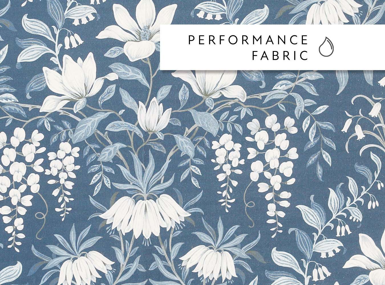 Laura Ashley Parterre Seaspray - Swatch Sample